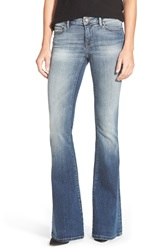 Mavi Jeans 'Peace' Stretch Flare Leg Jeans Shaded Tribeca