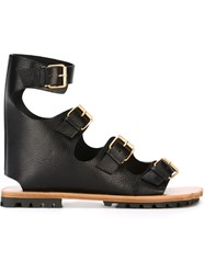 Vivienne Westwood Gladiator Sandals Black