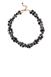 Coast Etta Twist Necklace Navy