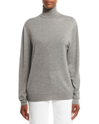 Ralph Lauren Cashmere Turtleneck Sweater Gray