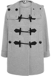 Burberry Wool And Cashmere Blend Duffle Coat