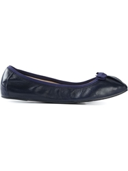 Salvatore Ferragamo 'My Joy' Ballerinas Blue
