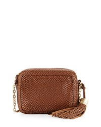 Foley Corinna Tulie Snake Embossed Crossbody Bag Coco Snake