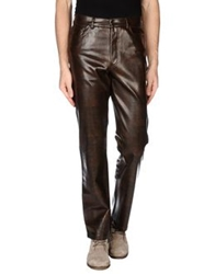 Hugo Casual Pants Dark Brown