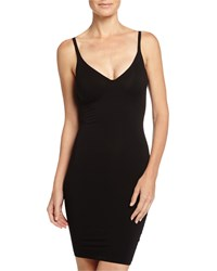 Wolford Cotton Contour Forming Dress Size 38 Black