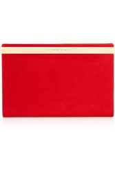 Charlotte Olympia Vanity Suede Clutch