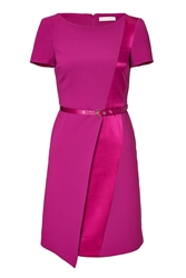 Matthew Williamson Satin Pleat Dress
