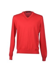 Andrea Morando V Necks Red