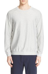 A.P.C. Men's And Outdoor Voices Raglan Sleeve Sweatshirt Grey