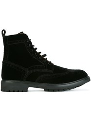 Givenchy Commando Ankle Boots Black