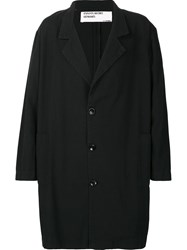 Enfants Riches Deprimes Oversized Loose Threads Coat Black