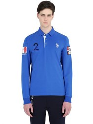 U.S. Polo Assn. Rome Team Stretch Cotton Jersey