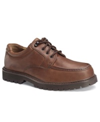 Dockers Glacier Oxfords Men's Shoes Dark Tan