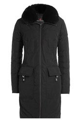 Peuterey Down Parka With Fur Trimmed Hood Gr. It 38