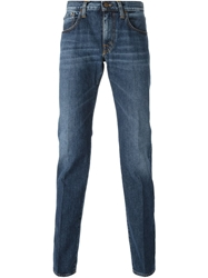 People 'John' Straight Fit Jeans Blue