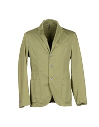 Betwoin Suits And Jackets Blazers Men Green
