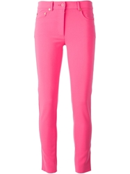Moschino Skinny Jeans Pink And Purple