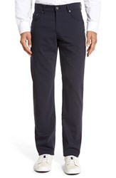 Brax Men's 'Manager' Five Pocket Wool Pants Navy