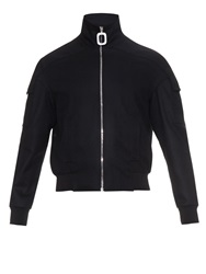 J.W.Anderson Funnel Neck Wool Bomber Jacket