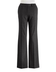 Calvin Klein Plus Classic Fit Ponte Pants Black