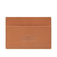 Penfield Birch Leather Card Holder Brown