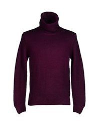 Altea Knitwear Turtlenecks Men Purple
