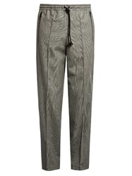 Raey 70S Prince Of Wales Checked Track Pants Grey