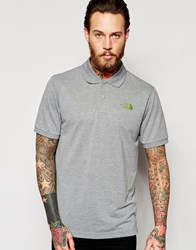 The North Face Polo Shirt With Logo Grey