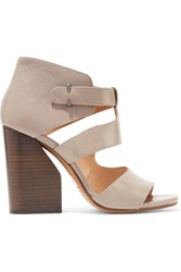 Maison Martin Margiela Leather Sandals Taupe