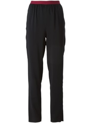 Antonio Marras Elasticated Waist Trousers Black