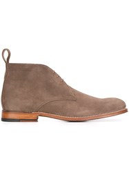 Grenson Desert Boots Nude And Neutrals