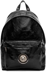 Versus Black Patent Leather Backpack