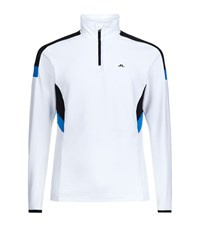 J. Lindeberg J.Lindeberg Mid Fieldsensor Sweater Male White