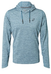Asics Over The Head Hoodie Mosaic Blue Heather