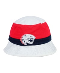 Top Of The World University Of South Alabama Jaguars Scuttle Bucket Hat Red Navy White