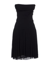 Alessandro Dell'acqua Dresses Short Dresses Women Black