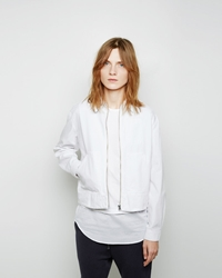 Maison Martin Margiela Stretch Canvas Jacket White