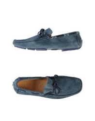 Gold Brothers Moccasins Dark Blue