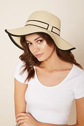 Forever 21 Wide Brim Floppy Straw Hat