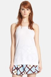 Marc By Marc Jacobs 'Compact' Cotton Tank White