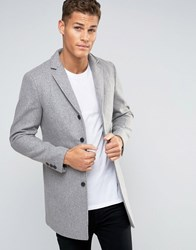 Selected Homme Overcoat Grey