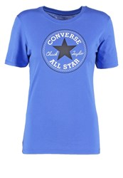 Converse Core Solid Print Tshirt Oxygen Blue