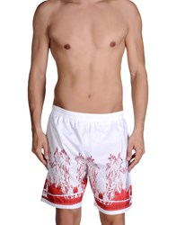 Just Cavalli Beachwear Swimwear Swimming Trunks Men Blue