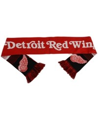 Forever Collectibles Detroit Red Wings Reversible Split Logo Scarf Red Black