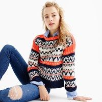 J.Crew Festive Fair Isle Sweater