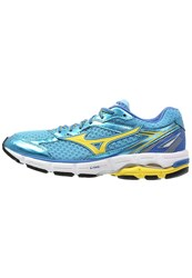 Mizuno Wave Connect 3 Stabilty Running Shoes Blue Grotto Butter Cup Palace Blue Light Blue