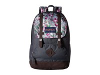 Jansport Cortlandt Backpack Multi Concrete Floral Backpack Bags Black