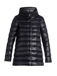 Herno Funnel Neck Down Filled Jacket Navy