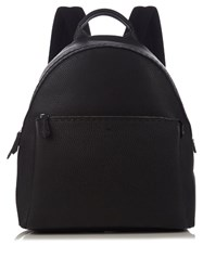 Fendi Selleria Leather Backpack Black