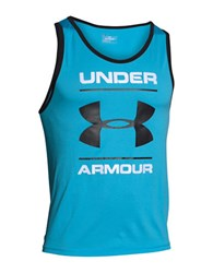 Under Armour Tech Graphic Tank Teal